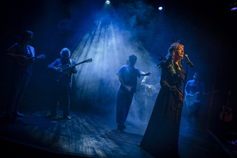 Charlie Hardwick and cast in Clear White Light at Live Theatre, Newcastle