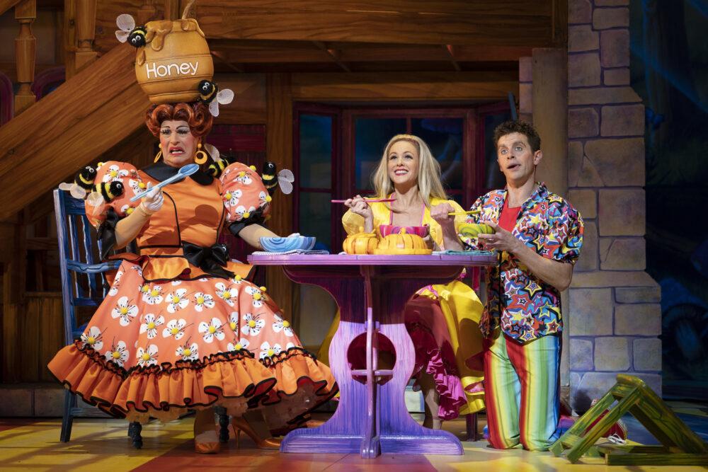 Goldilocks and the Three Bears at Newcastle Theatre Royal. Credit: Paul Coltas