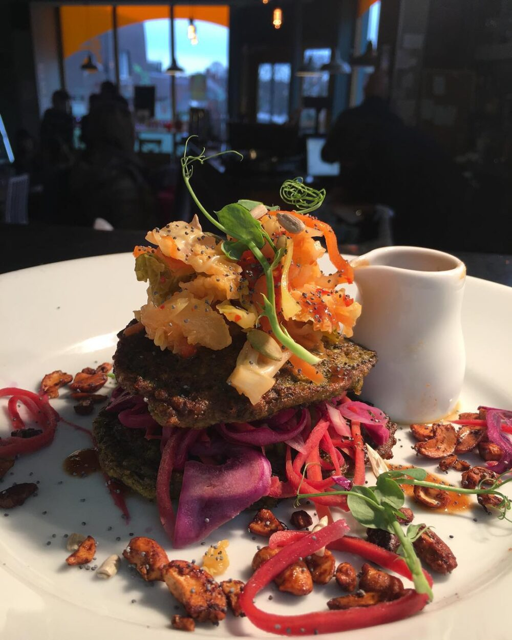 The Little Green Social is in Sandford, Newcastle and boasts an ever canging menu of delicious vegan starters, mains and desserts