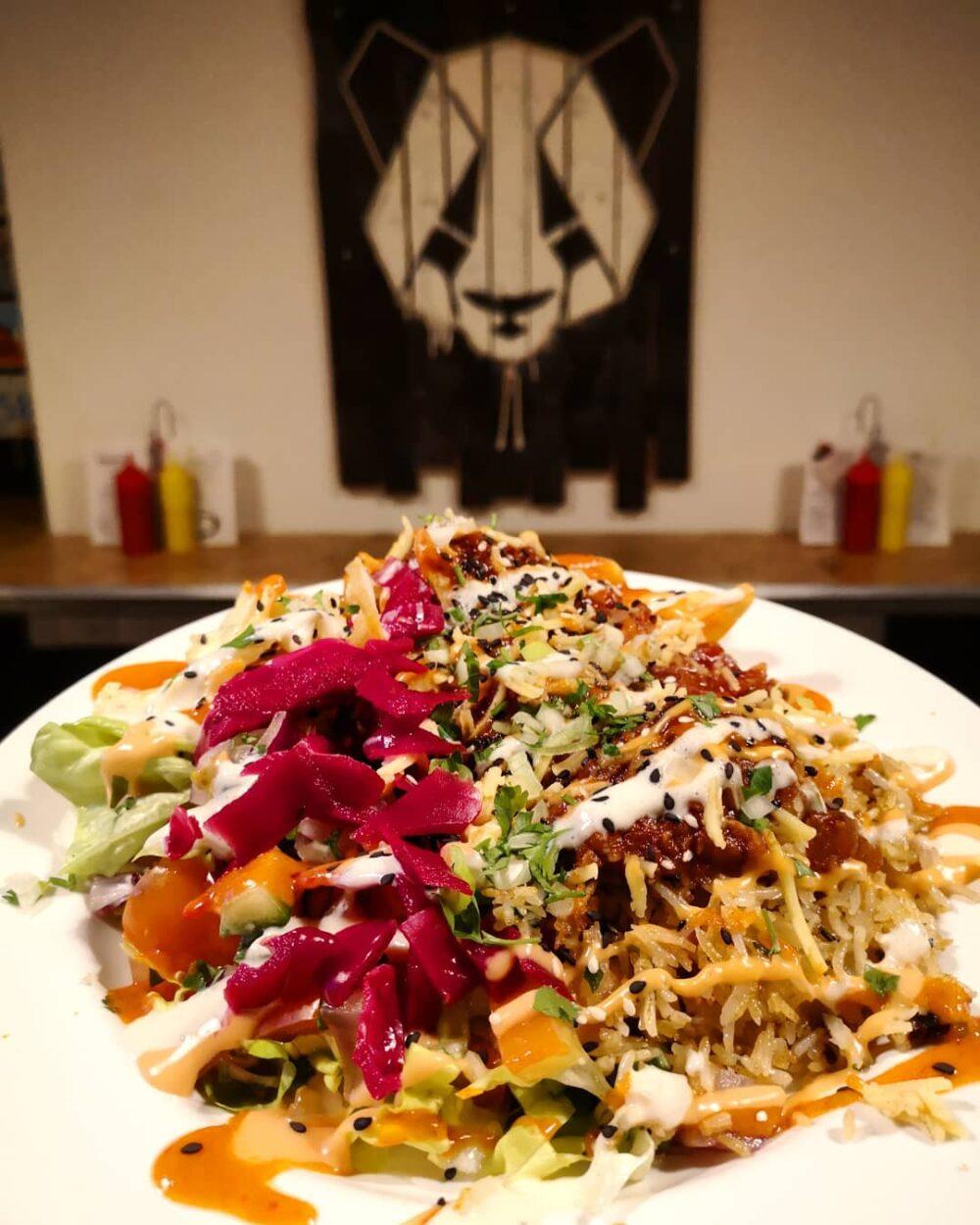Grumpy Panda in Gateshead is a favourite among vegans on Tyneside
