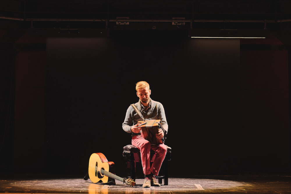Folk musician Ian Stephenson brings his new show Modulate to Sage Gateshead