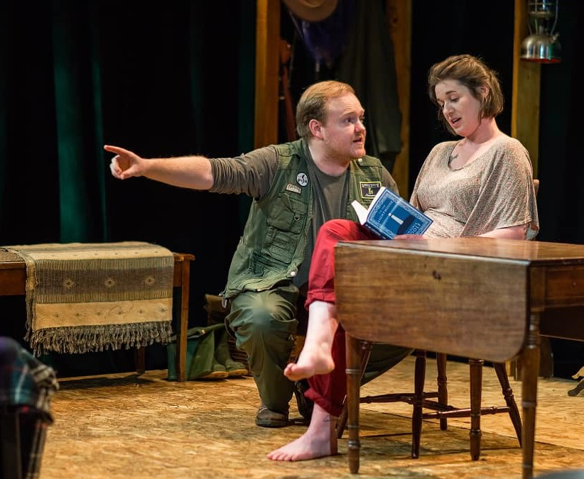 Ian Willis and Rhiannon Wilson in The River at the People's Theatre