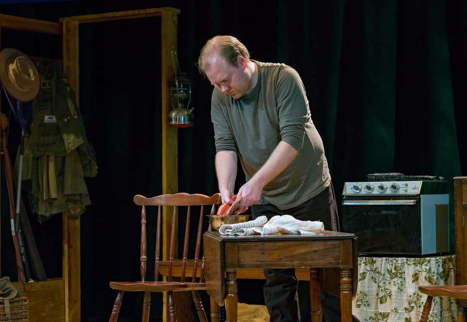 Ian Willis in The River at the People's Theatre