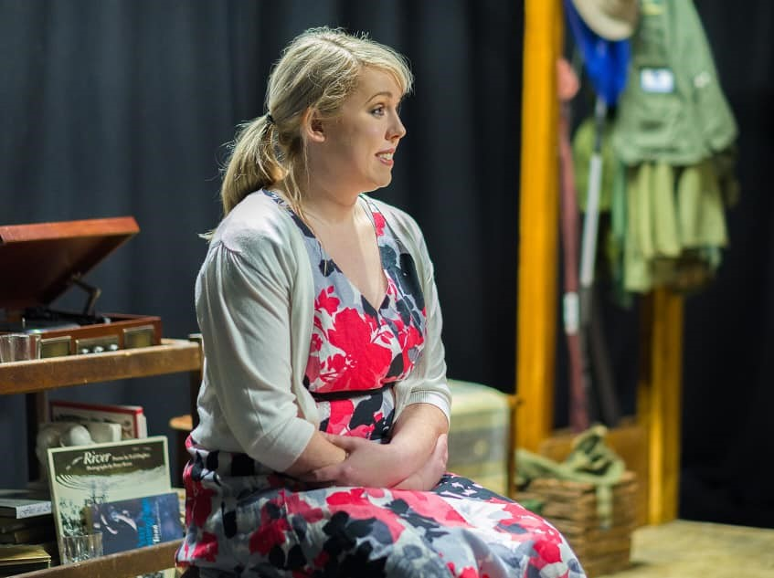 Laura Brown in The River at the People's Theatre