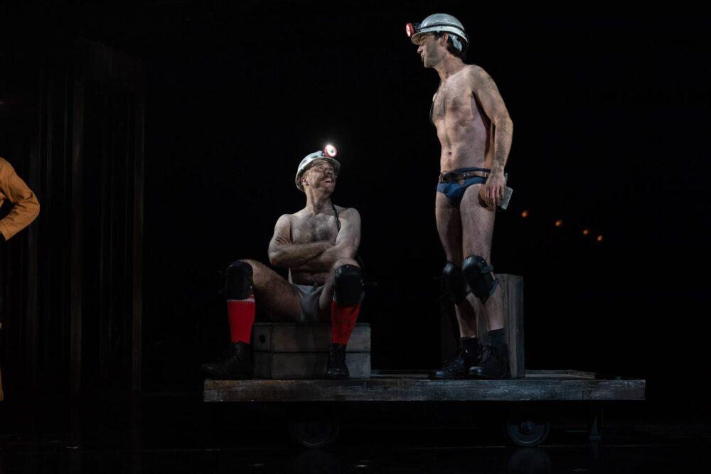 Jack Quarton and Nicholas Shaw in Wonderland at Northern Stage, Newcastle Credit: Darren Bell