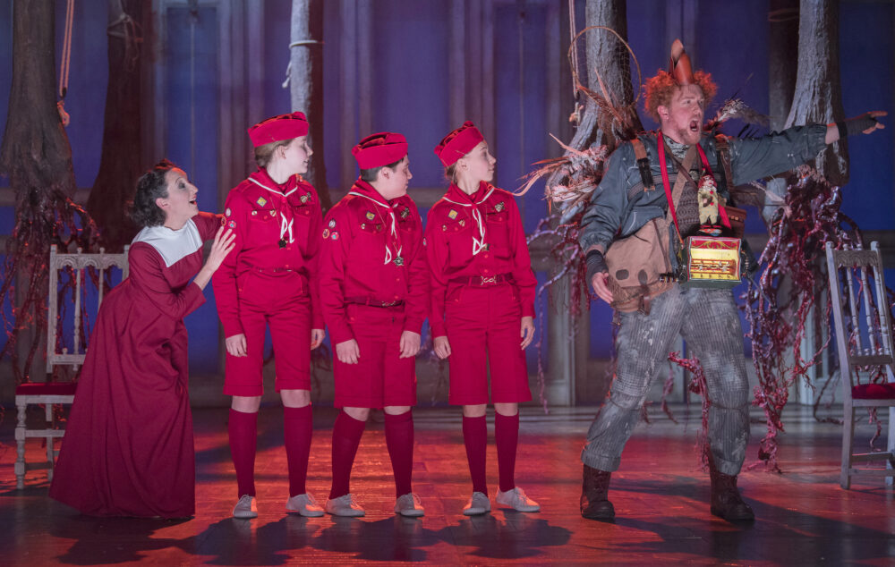 The Magic Flute from Opera North at Newcastle Theatre Royal