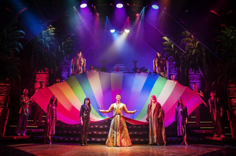 Joseph and the Amazing Technicolor Dreamcoat. Credit: Pamela Raith Photography