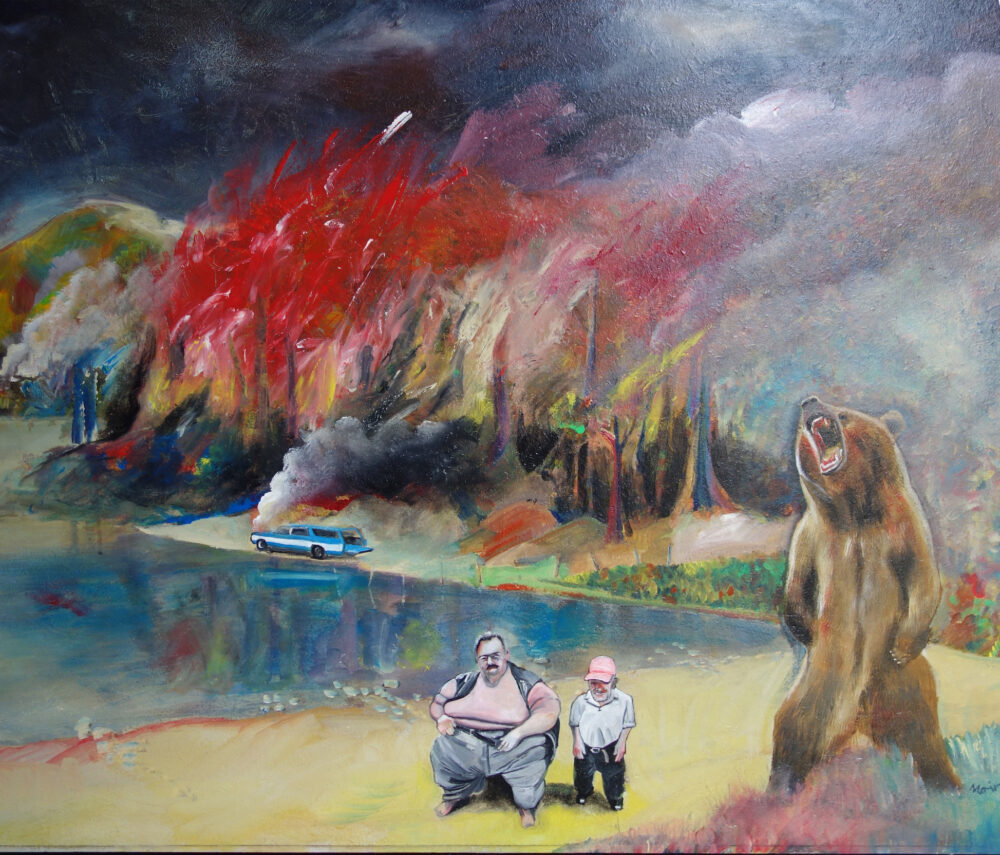 Car, Fire, Bear Man - Jim Moir / Vic Reeves