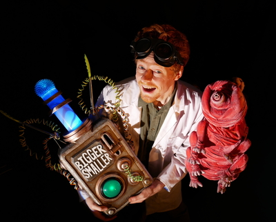 Microbodyssey by Tatwood Puppets will perform at the first Newcastle Fringe Festival