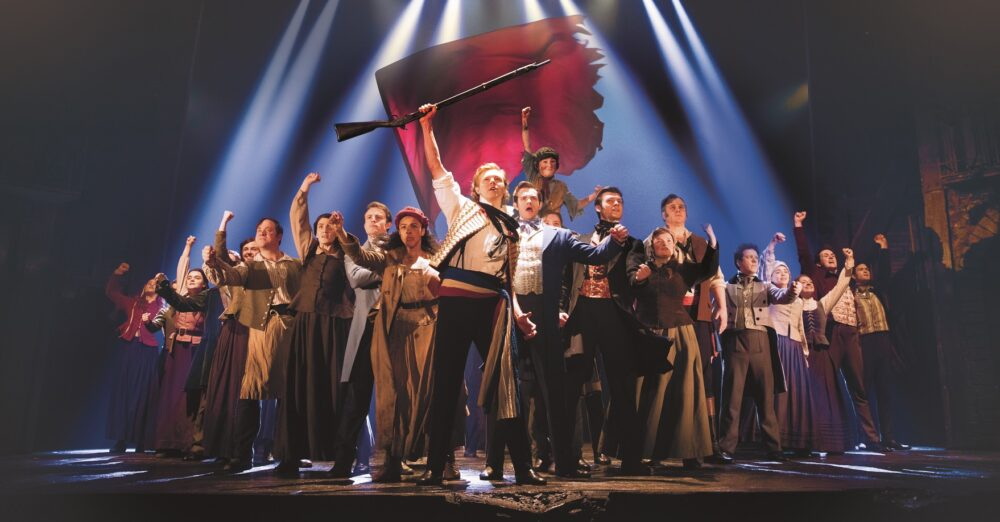 Les Miserables is at Newcastle Theatre Royal until October 2019