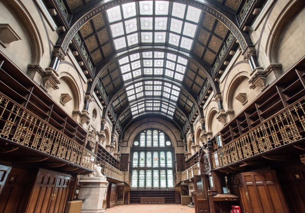 The Library at the Mining Institute in Newcastle
