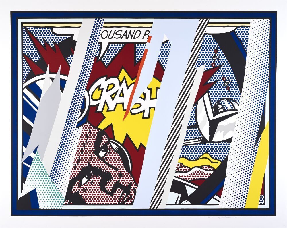 Reflections on Crash, 1990 by Roy Lichtenstein