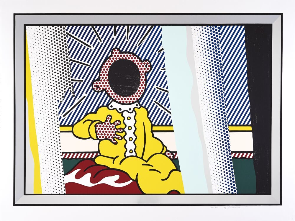 Reflections on The Scream, 1990 by Roy Lichtenstein
