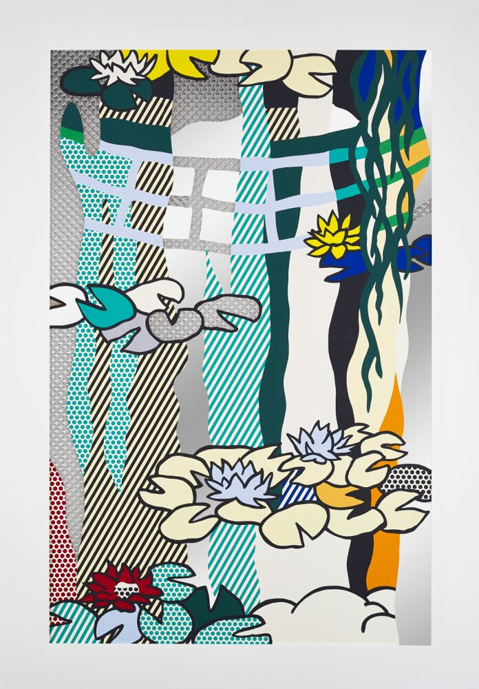 Water Lilies by Roy Lichtenstein