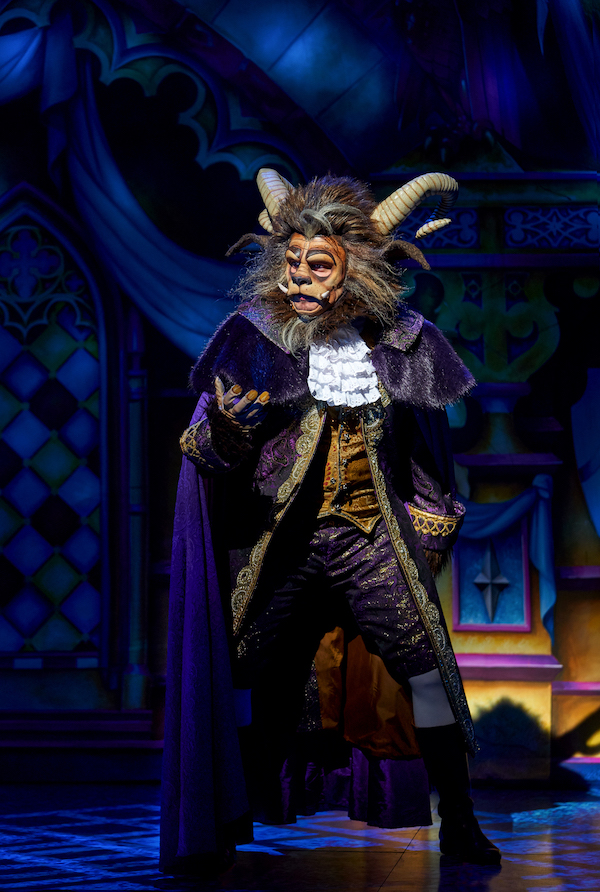 Chris Cowley pantomime turn as the Beast at Newcastle Theatre Royal