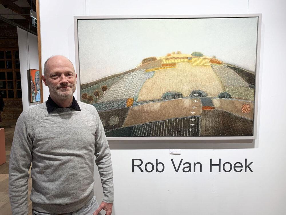 Rob Van Hoek at The Biscuit Factory