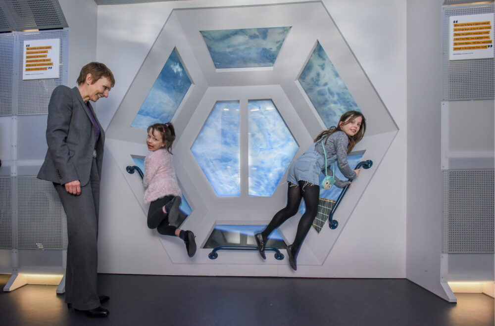 The new Space Zone at the Life Science Centre in Newcastle