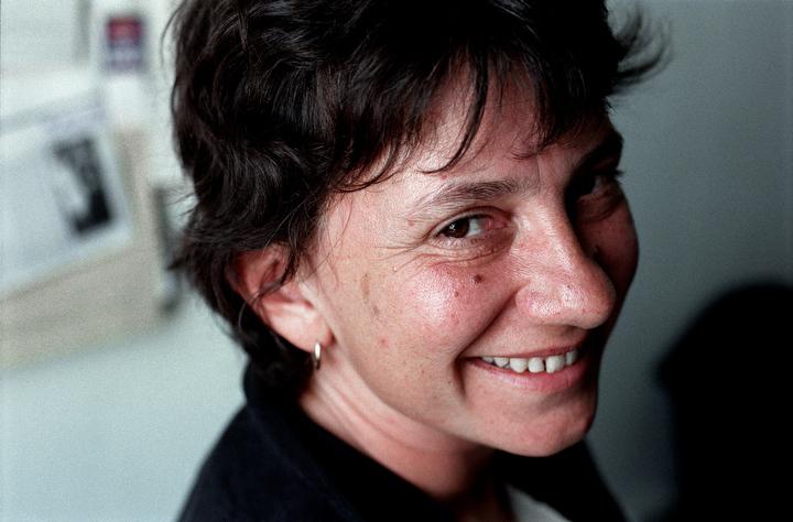 Much missed writer and poet Julia Darling. Photo credit: Mark Pinder