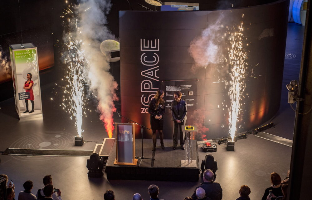 Lift off for the Space Zone at Life Science Centre Newcastle