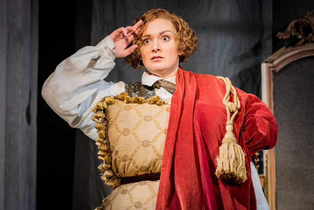 Heather Lowe in The Marriage of Figaro. Photo, Robert Workman