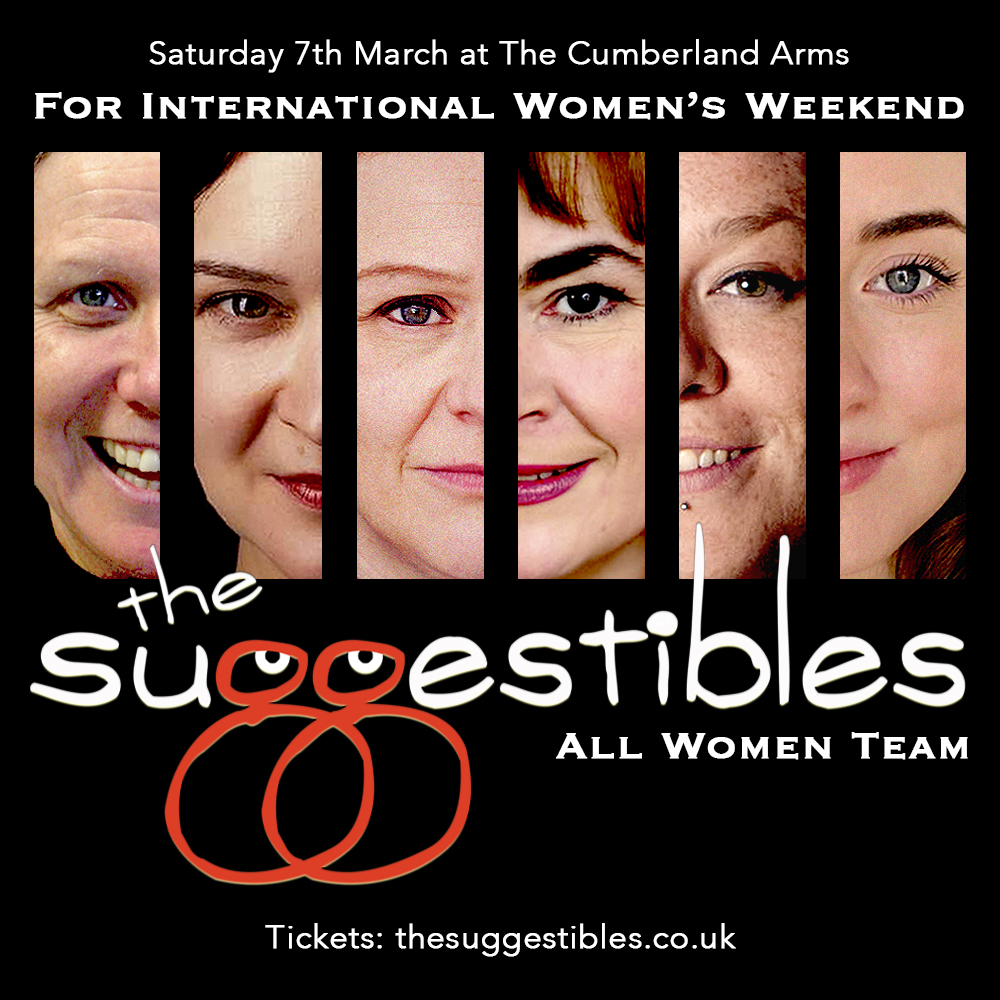 The Suggestibles have put together a special IWD line up for the gig in Newcastle