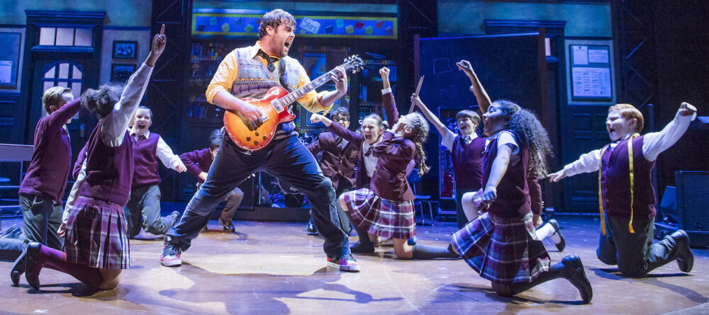 A scene from School Of Rock, coming to the Theatre Royal next May