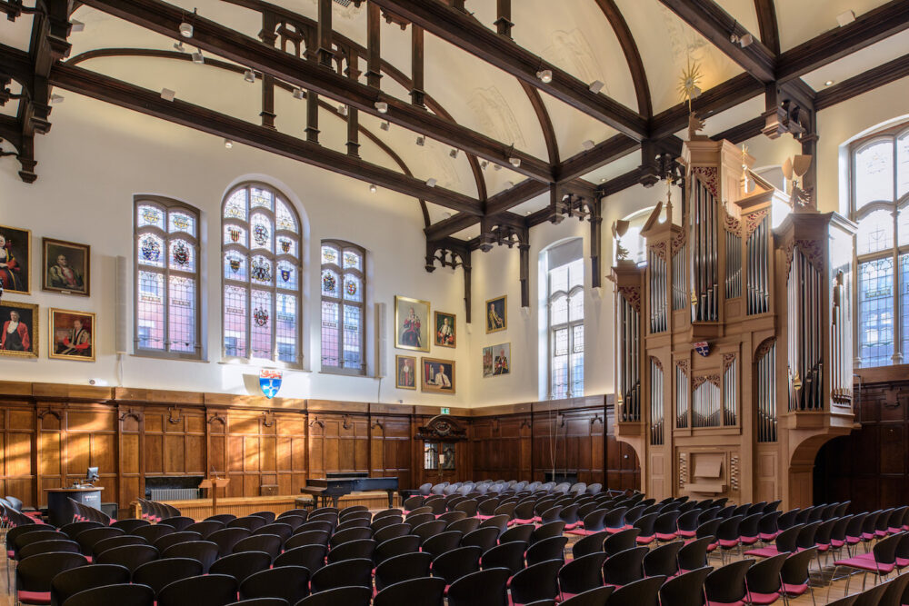 The Aubertin Organ in Kings Hall at Newcastle University
